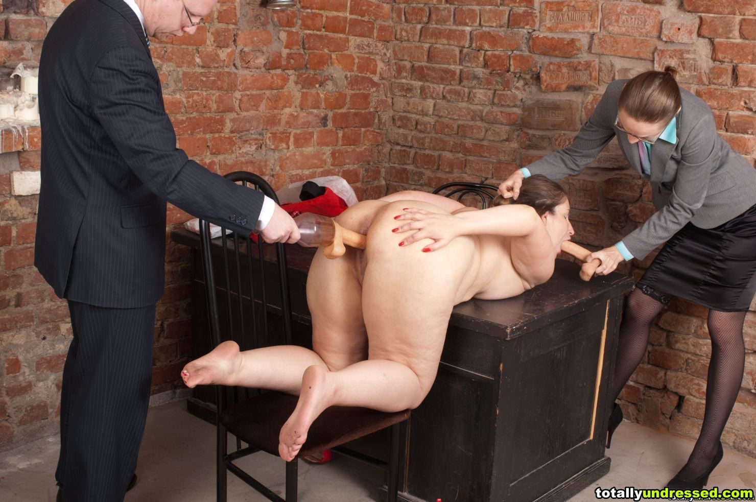 Fat girl humiliated
