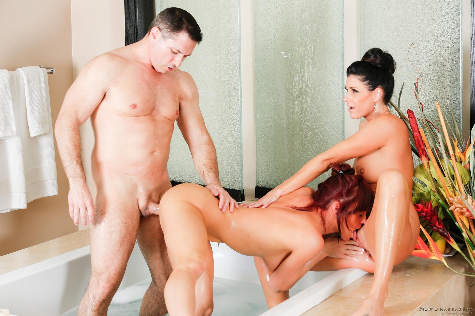 Massage turns to sex fest